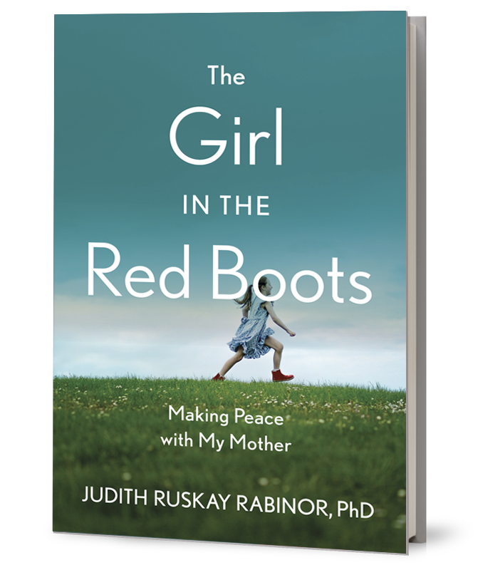 Book Cover, The Girl in the Red Boots: Making Peace with My Mother
